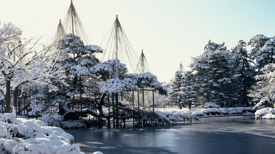 兼六園・冬 (写真提供:金沢市)