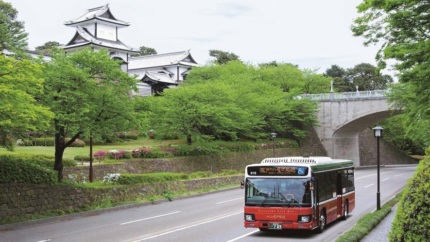 城下まち金沢周遊バス (写真提供:金沢市)