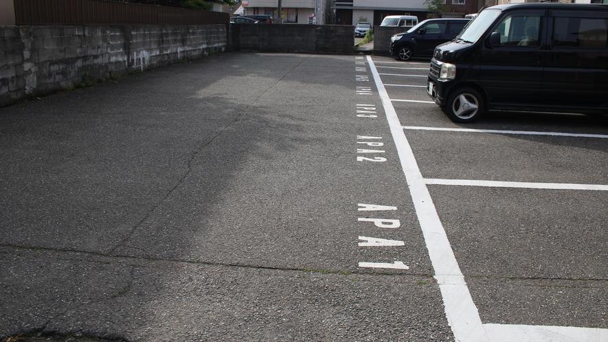 第二駐車場(敷地内)