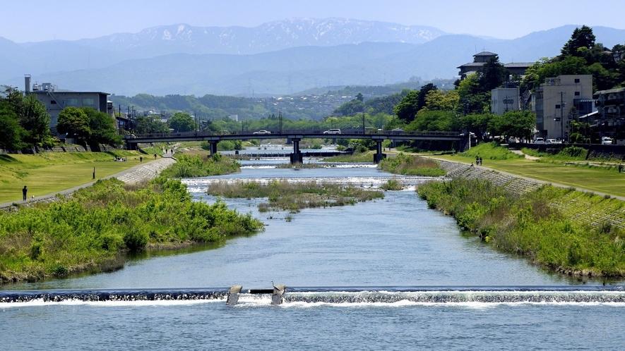 犀川 (写真提供:金沢市)