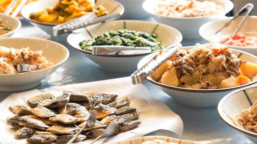 姉妹館アパホテル〈小松グランド〉2F朝食会場グランドホスト朝食イメージ
