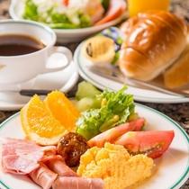 アパホテル<小松グランド>朝食バイキング 洋食レイアウト
