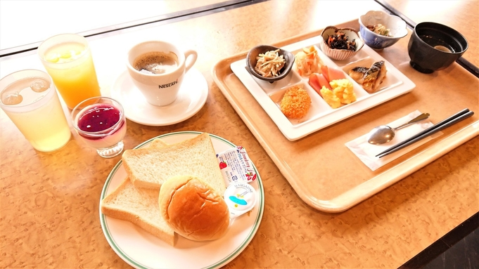 【朝食付】和洋食プレート