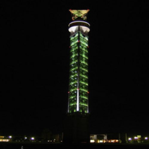 ■クロスランドタワー ライトアップ