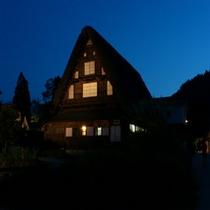 ■五箇山ライトアップ