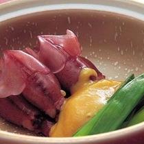『ホタルイカの酢味噌和え』