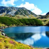 『立山黒部アルペンルート みくりが池』