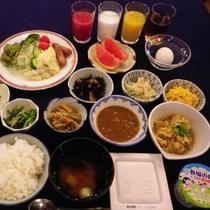 和洋朝食(イメージ)