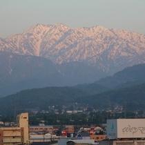 『立山連峰』