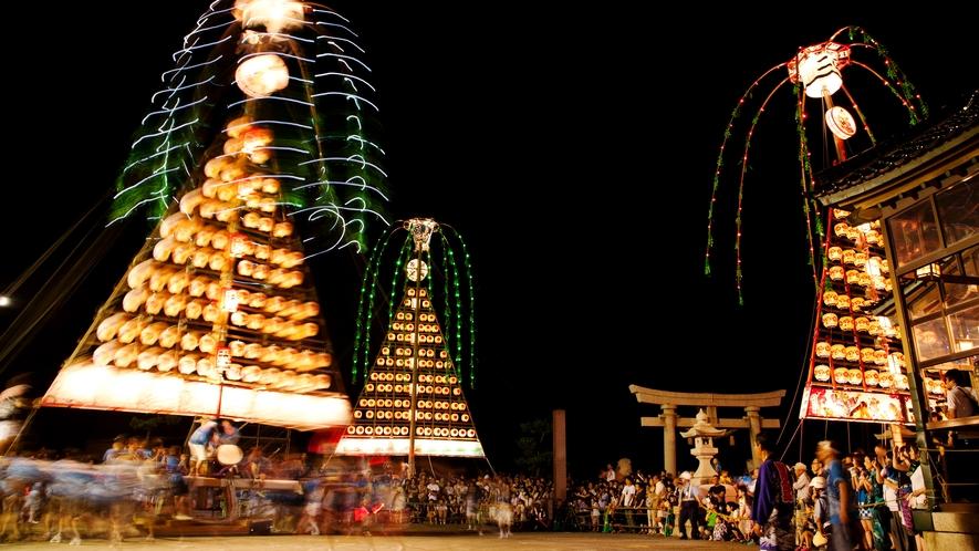 『魚津 たてもん祭り』