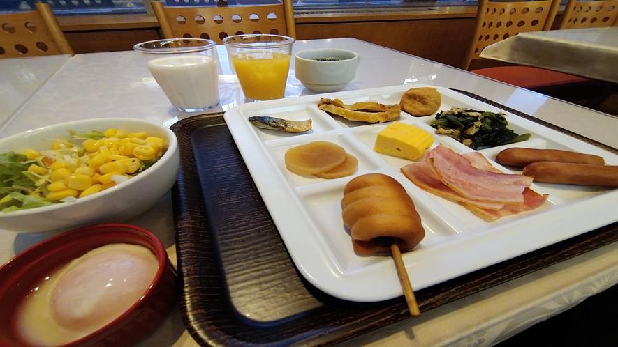 【朝食】盛り付け例②