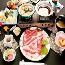 ■夕食一例