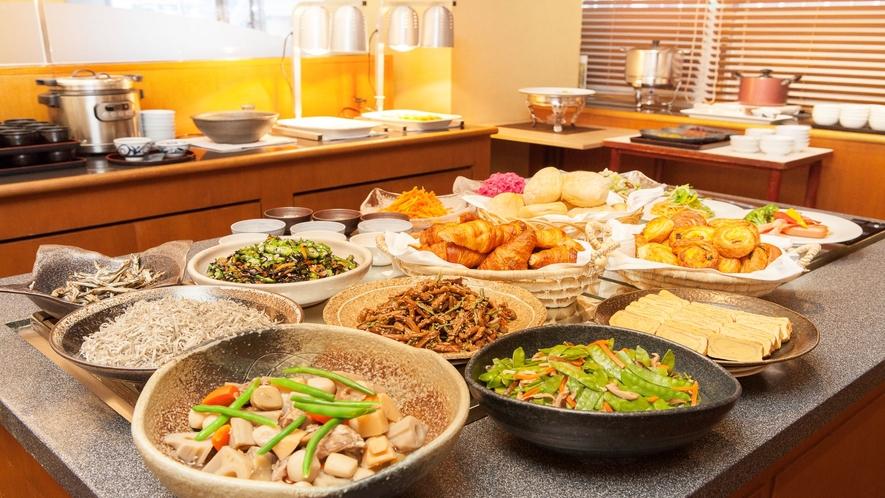 【朝食】和・洋ブッフェ