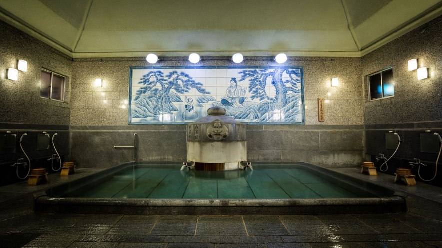 【道後温泉本館】神の湯