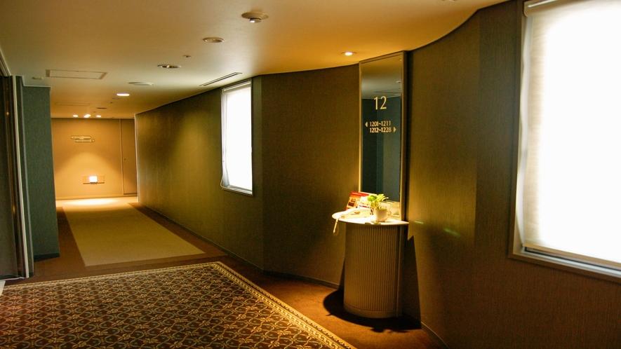 【客室】廊下(12階)