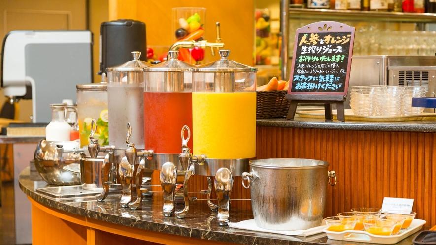 【朝食】ドリンクバー