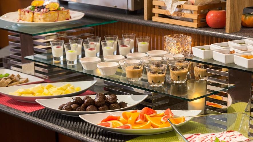 【朝食】デザートコーナー