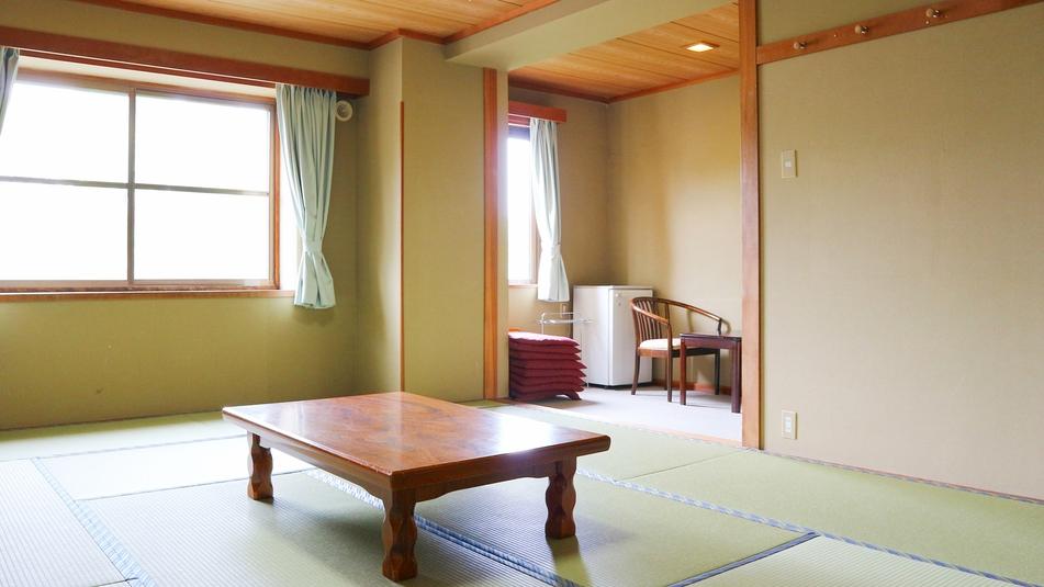 *和室12畳一例/5名様〜6名様でゆったり過ごせる純和風のお部屋