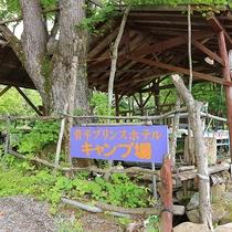 *キャンプ場/おいしい空気と自然の中で楽しくキャンプ体験