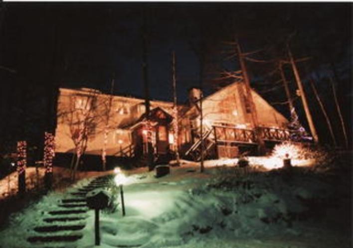初冬の夕景