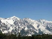 7月の白馬三山