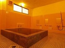 ゆったり入れる浴場