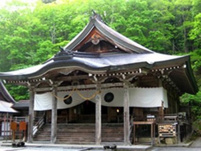 戸隠神社、中社