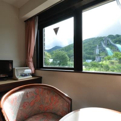 ツインルーム406 窓からの眺め