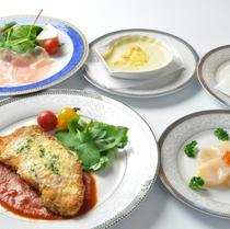 夕食コース一例 2