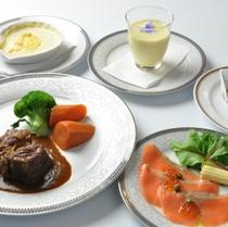 夕食コース一例 3