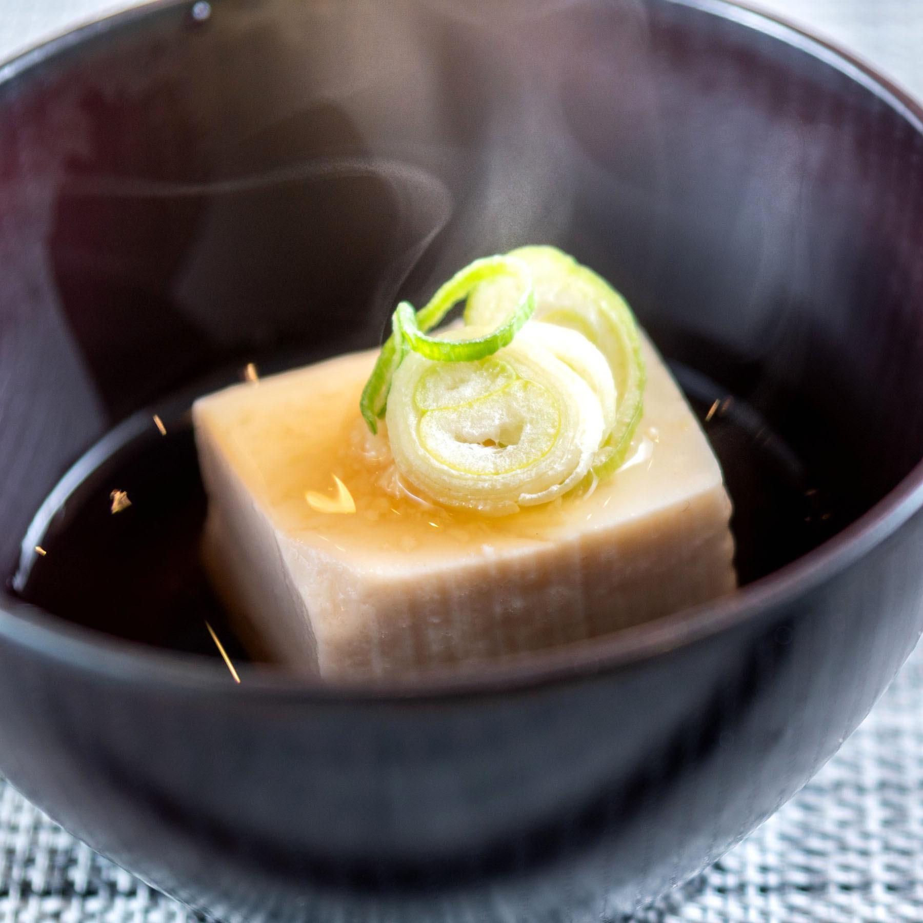 お豆腐【朝食】朝から重くなくサラッと召し上がっていただけます♪