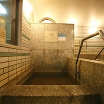大浴場:水風呂