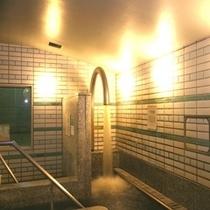 大浴場:打たせ湯
