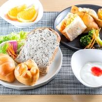 洋風セット【朝食】パンに合うメニューも多数用意してます。