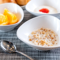 コーンフレーク【朝食】お子様にも食べやすく大人気