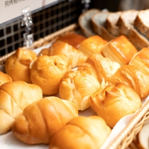 パン【朝食】風味高いパンを常にご用意しております。