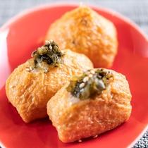 稲荷寿司【朝食】1口サイズで食べやすい大きさ♪