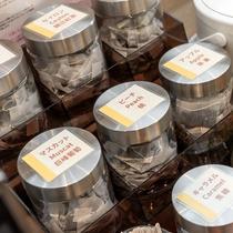 紅茶コーナー【朝食】お好みのフレーバーティーを探してみては?