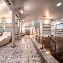 【大浴場内】キングスチェアーやカイザーバスもお楽しみいいただけます