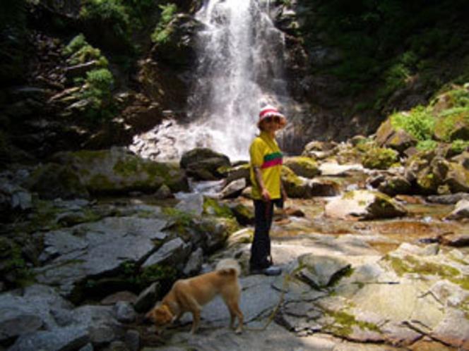 精進ヶ滝の滝巡り