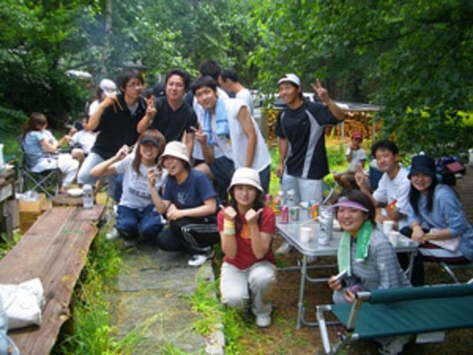 夏のBBQパーティ