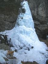大禅の滝とポッポ