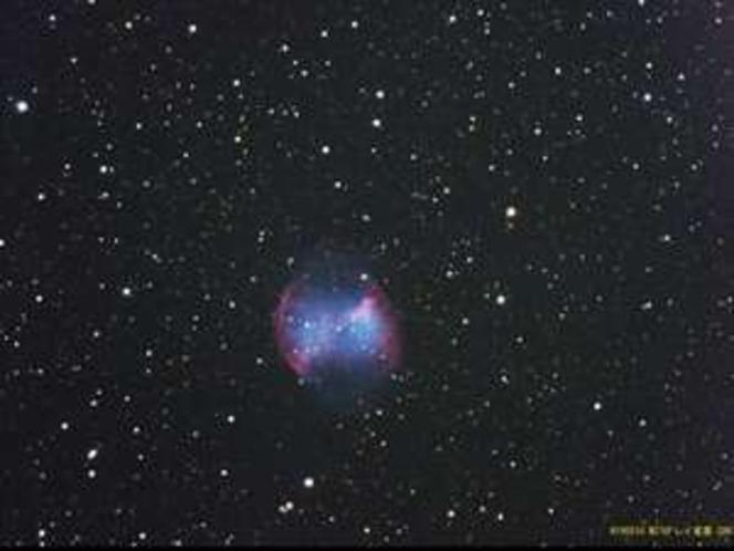 こぎつね座の惑星状星雲 M27 (2007.05.15 オーナー撮影)
