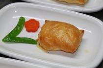 メインディナー魚料理例