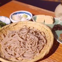 〇信州蕎麦会席プランのお料理一例。