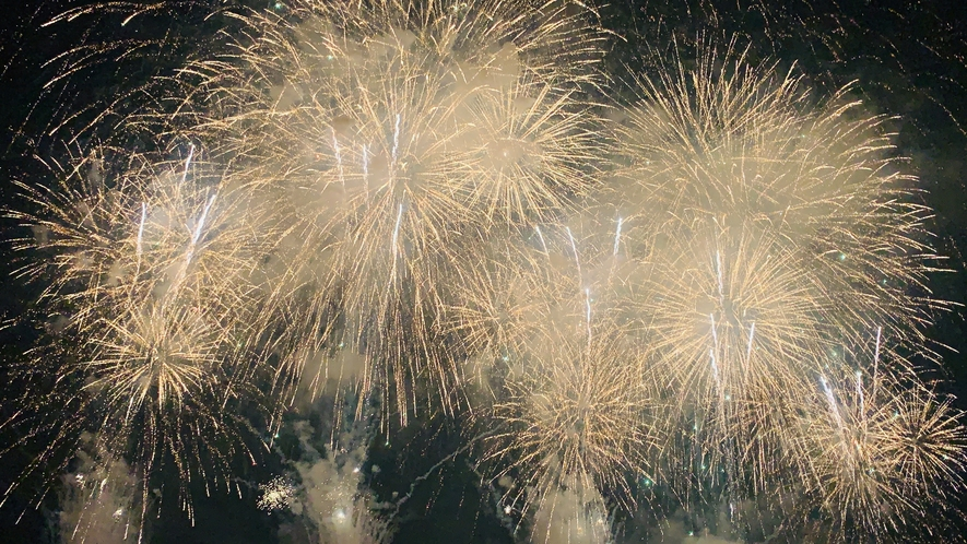 女神湖花火大会 毎年8月11日開催