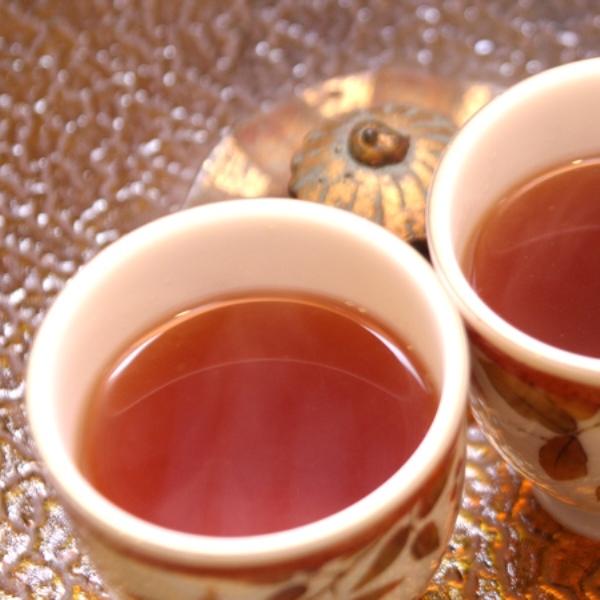 ウェルカムドリンクの延命茶(ノンカフェイン)