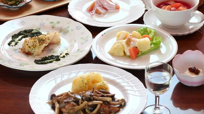 【1泊3食付き】スローフードな夕食♪昼食のおにぎり付☆戸隠散策にオススメ♪<1泊2食+おにぎり>