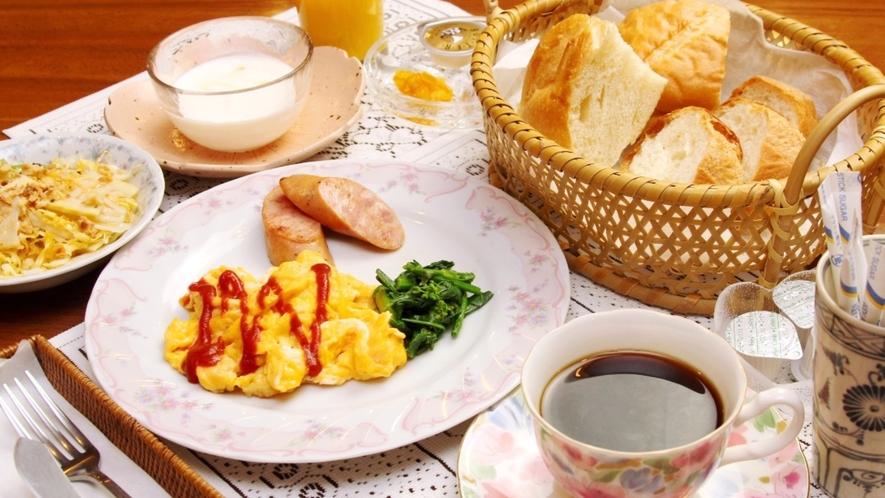 清々しい朝を感じる朝食