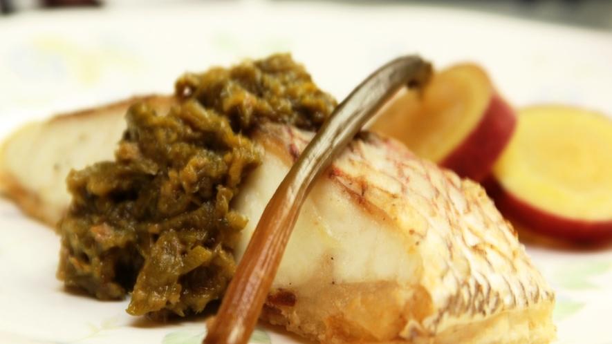 夕食_魚料理